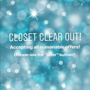 Other - ✨CLOSET CLEAR OUT! ✨